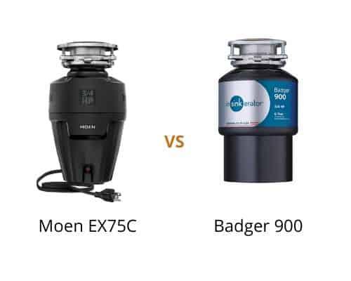 Moen GX75C vs Badger 900