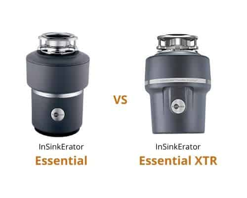 InSinkErator Essential vs Essential XTR