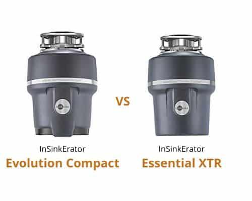 InSinkErator Evolution Compact vs Essential XTR